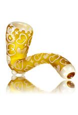 "Joe Palmero 5"" Image Sherlock Dry Pipe 'Wu-Tang Gold' by Joe Palmero  (J)"