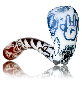 "Joe Palmero 5"" Image Sherlock Dry Pipe 'Hand of the Dead' by Joe Palmero  (L)"