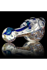 "4"" Glass Dry Pipe Fully Worked Dichro Inside Out G by GFL Glass"