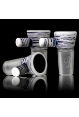 Witch DR 18mm Frosted Glass Bong Bowl Slide Classic Engelmann Betula Birch SG Witch DR