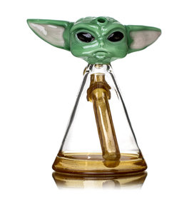 "6"" 14mm BABY YODA Jammer by Saiyan Glass"