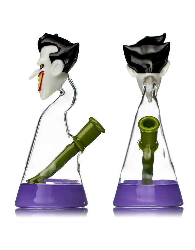 "8"" 14mm THE JOKER Jammer by Saiyan Glass"