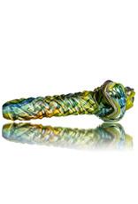"""Pubz Glass 5"""" Glass Dry Pipe Pubz Crawlerz Eye Pipe (G) by Pubz Glass"""
