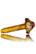 "Pubz Glass 5"" Glass Dry Pipe Pubz Crawlerz Eye Pipe (H) by Pubz Glass"