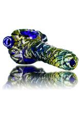 """Pubz Glass 5"""" Glass Dry Pipe Pubz Crawlerz Eye Pipe (L) by Pubz Glass"""