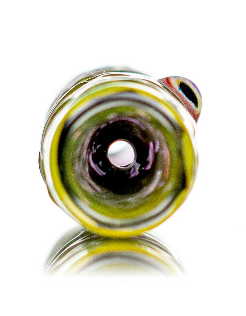 """Pubz Glass 4"""" Crawlerz EYE Millie Chillum Glass Onie by Pubz Glass (B)"""