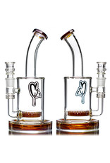 """Custom Creations 11"""" 18mm 80x5 COLOR Circ Perc by C2 Custom Creations with Matching Slide (A)"""
