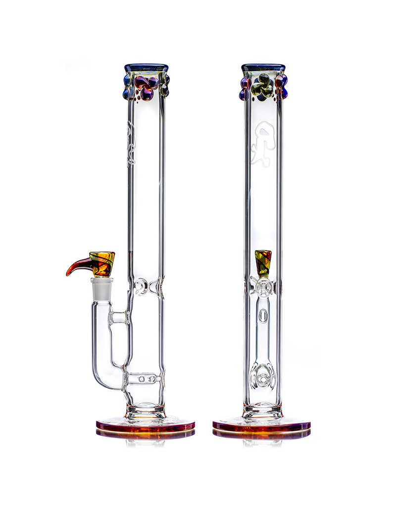 """Witch DR 14mm 14"""" OG Inline Heady Topper Bong with Matching Slide (A) by Witch DR Studio"""