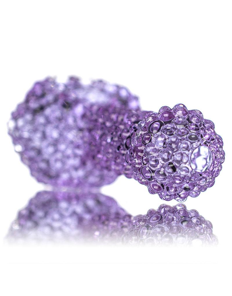 "5"" Purple Jumbo Bling Bowl by Drs Glass"