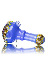 "Koy Glass 4"" Glass Dry Pipe Implosion Cap by Koy Glass H"
