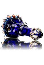 """Koy Glass 4"""" Glass Dry Pipe Implosion Cap by Koy Glass i"""
