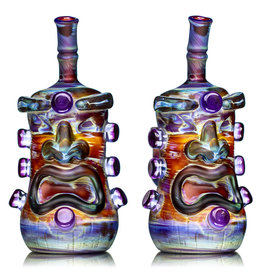 "Don Chile Ortega 6"" 14mm 90 Amber Purple Serendipity Tiki Don Chile"