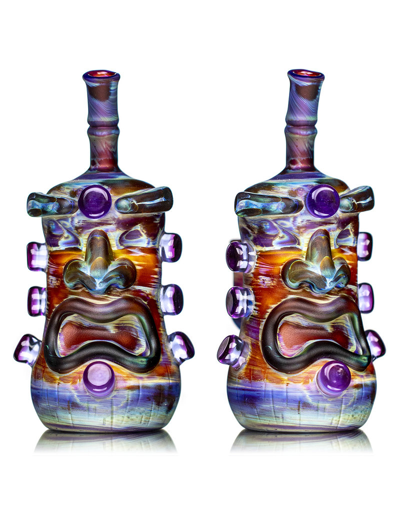 "Don Chile Ortega 6"" 14mm 90 Amber Purple Serendipity Tiki Don Chile"
