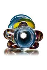 "Key Glass Co 4"" Glass One Hitter Eyeball Chillum (A) by Key Glass Company"