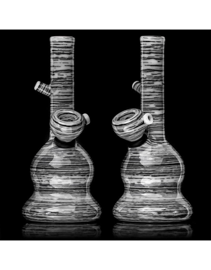 """Witch DR 6"""" Grommeted Englemann Betula Birch Mini Tube Water Bong (C) by Witch DR"""