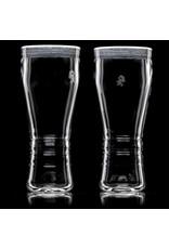 "Witch DR 16oz 8"" 4mm Engelmann Betula Birch Pint Glass (A) by Witch DR Studio"