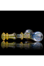 """Witch DR 6"""" Glass Fume Encalmo Hammer (A) by Witch DR Studio"""