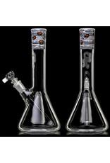 "Witch DR 9"" 10mm 44x4mm Engelmann Betula  Birch Mini Tube with Fidget Glass Mushroom Millie Accents"