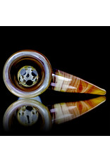 Witch DR 14mm Glass Bong Bowl Slide Engelmann Betula Birch Horned Slide by Witch DR