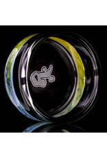 """Witch DR 4"""" Glass Tapout Tray (B) Fume Section by Witch DR Studio"""