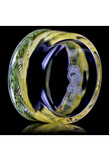 """Witch DR 4"""" Glass Tapout Tray (C) Fume Section by Witch DR Studio"""
