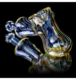 "5"" Glass Dry Pipe ISO Fume Hammer (N) by Sully Reynolds"