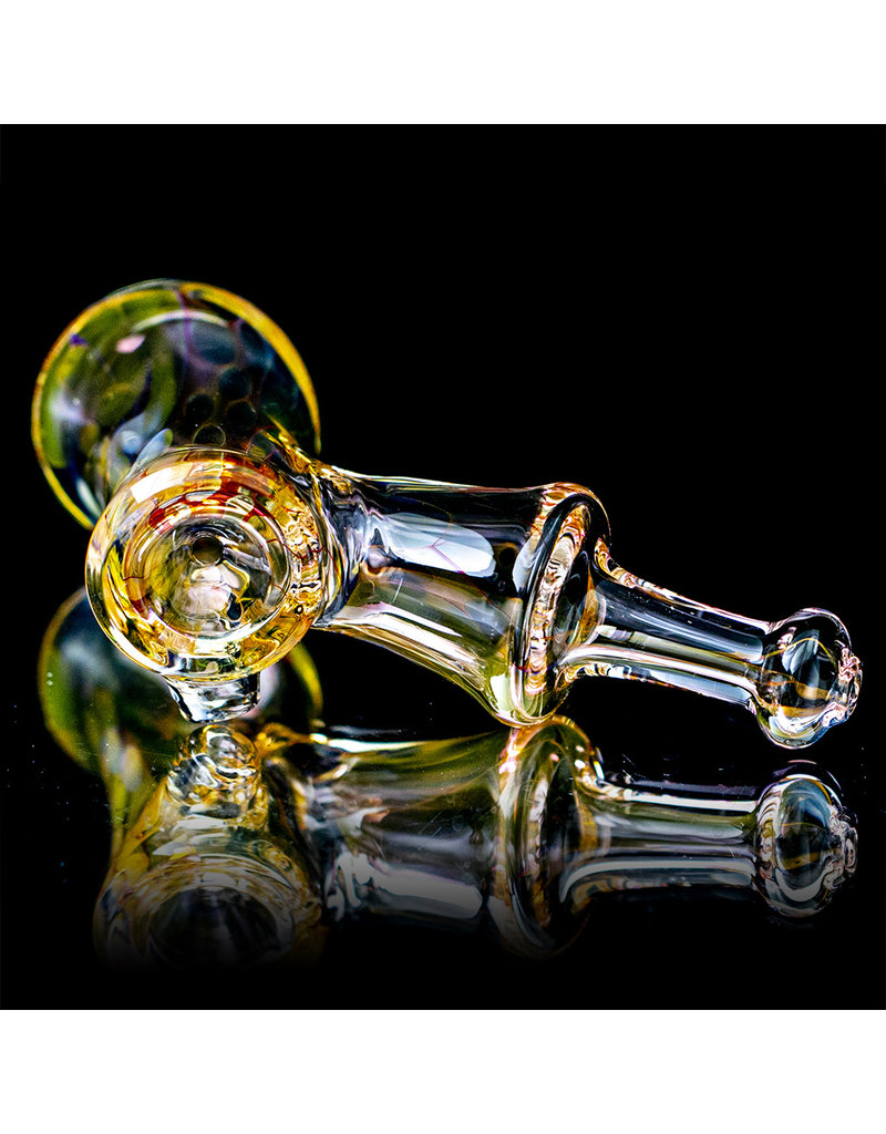 """5"""" Glass Dry Pipe ISO Fume Hammer (Q) by Sully Reynolds"""