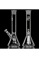 """Witch DR FF4.30 14mm 14"""" Chopped Birch Beaker Bong A by Witch DR Studio"""