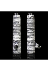 """Witch DR 4"""" Crushed Opal Birch Log Chillum B by Witch Dr Studio"""
