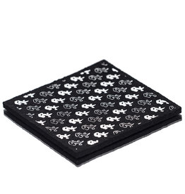 """Witch DR Rx Black & White Repeat Moodmat 5.5""""x5.5"""" Square"""