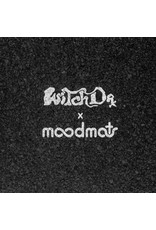 """Witch DR Witch DR Black & White Repeat Moodmat 8""""x8"""" Square"""
