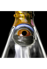 "Pubz Glass 7"" 14mm Half Carved Pub Crawlerz Rig by Pubz Glass"
