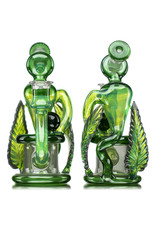 """Evan Cals 7"""" 14mm Fully Worked Spiral Drain Recycler (A) by Evan Cals"""