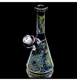 """6"""" 10mm 2019 Space Beaker with Removable Downstem by Nathan Miers"""