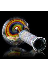 "Witch DR FF5.28 10mm 9"" Rainbow Birch Beaker Spiral Base 2."
