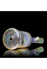 """Witch DR FF625 10mm 8"""" Gold Fume Rig with Matching Downstem and Slide by Witch DR"""