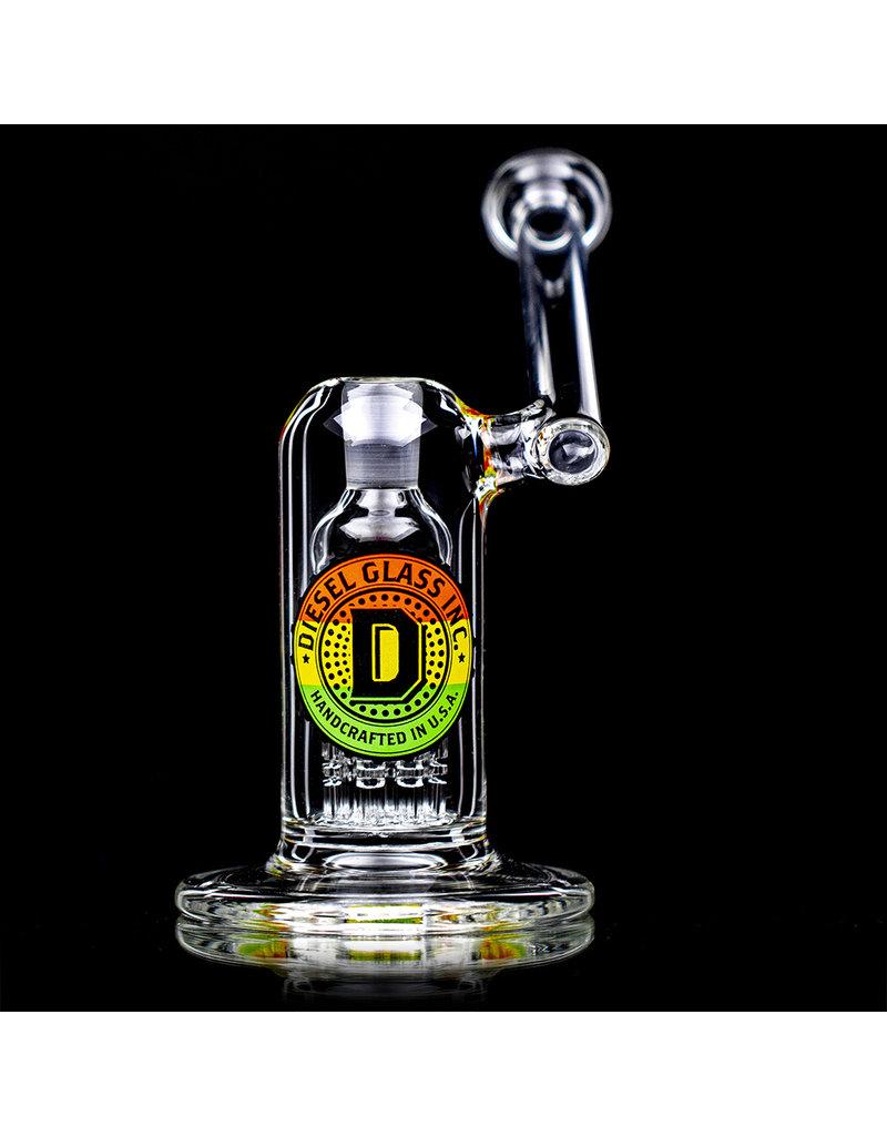 "Diesel 14mm 6"" 8 ArmTree Perc Side Car Rig by Diesel Glass with Quartz Banger"
