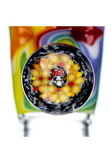 Black Tuna Glass 18mm Bong Bowl Slide with Mushroom Millie Handle and 5-Hole glass screen by Black Tuna (P)
