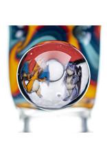 Black Tuna Glass 18mm Bong Bowl Slide with Pokemon Millie Handle and 5-Hole glass screen by Black Tuna (O)