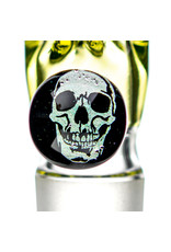 Black Tuna Glass 18mm UV Accented Bong Bowl Slide Piece with Millie Handle and 5-Hole glass screen by Black Tuna (MA)
