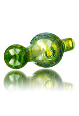 25mm Marbled Sour Diesel Glass Bubble Carb Cap by Messy Glass