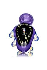 "6"" Melting Clock Glass Sherlock (A) by Scoby"