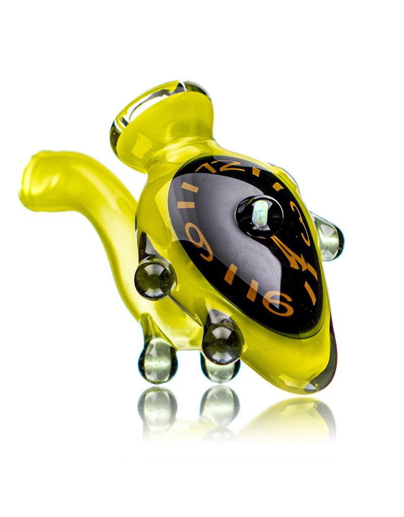 "6"" Melting Clock Glass Sherlock (B) by Scoby"