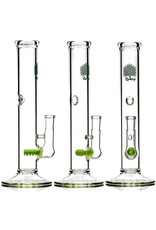 """Bubsy Glass 8"""" 14mm 90 Straight Inline Rig by Bubsy Glass"""