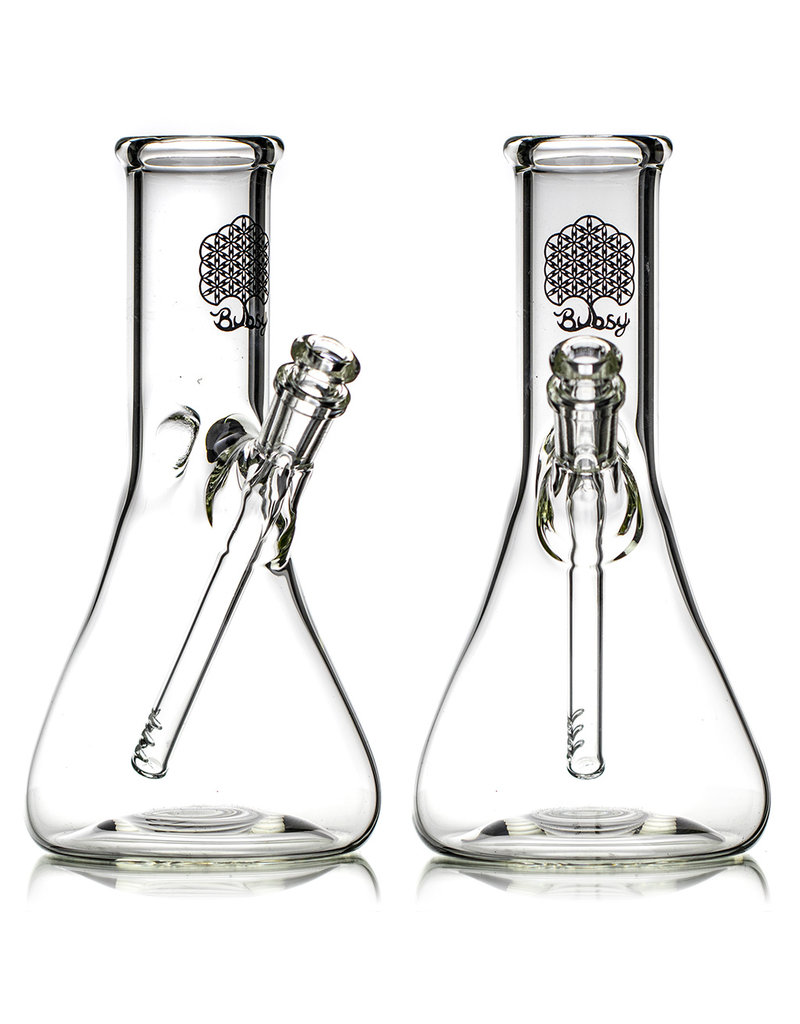 """Bubsy Glass 10mm 45 10"""" Beaker Rig with Removable Slide by Bubsy Glass"""