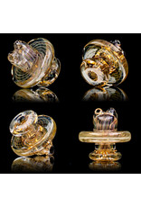 """Witch DR FF730 (G) 10mm 8"""" Multi Section Rig with Downstem and Spinner Cap by Witch DR Studio"""