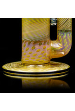"""Witch DR ff730 (V) 8mm 15"""" Section Fume Bong witch Matching Slide by Witch DR Studio"""