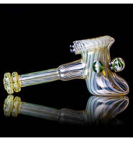 """Witch DR 5"""" Fume Hammer Dry Pipe (B) with Millie Cluster by Witch DR Studio"""