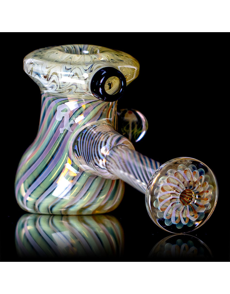 """Witch DR 5"""" Fume Hammer Dry Pipe (D) with Millie Cluster by Witch DR Studio"""