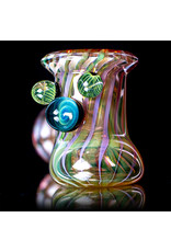 """Witch DR 5"""" Fume Hammer Dry Pipe (G) with Millie Cluster by Witch DR Studio"""